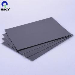 Высокая плотность серого жесткий ПВХ платы жесткого ПВХ для строительства
