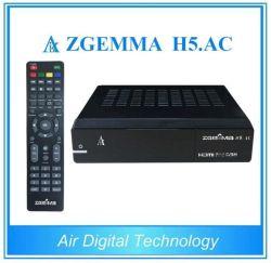 Logiciels original officiel DVB-S2+Hevc ATSC/H. 265 Zgemma Twin Tuners H5. AC récepteur TV numérique
