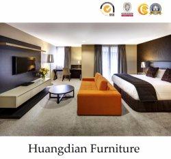 중국어는 주문을 받아서 만든다 현대 목제 침실 세트 호텔 계약 룸 가구 (HD616)를