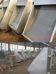 Heiße Verkaufs-Edelstahl-Keil-Draht-Sieb-Schlaufen-entwässernbildschirm-Filter für Gewebe, färbend, Papier-Abwasserbehandlung