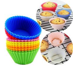 Kundenspezifische buntes lustiges Silikon-Minikuchen-Form