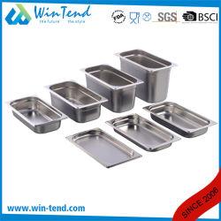 Il formato elettrolitico caldo GN della cucina 1/2 del ristorante dell'acciaio inossidabile di vendita fa una panoramica di