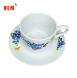 Tazze di tè turche di ceramica del piattino della tazza dell'annata della porcellana impostate