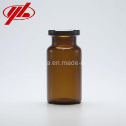8ml Brown pharmazeutische Verpackungs-Kronglas-Phiole