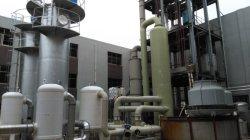 Collettore di polveri del sistema di trattamento del gas di scarico