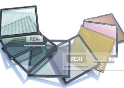空IGU DGUのガラス製造業者の工場価格を絶縁する艶をかけられた単位に二重ガラスをはめる単一の二重三重の銀製の低いE絶縁されたガラス