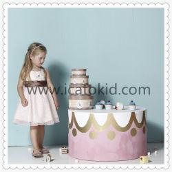 Haute qualité sans manches classique Bubbly filles robe de fête