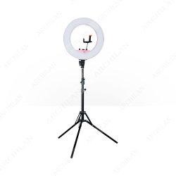 С регулируемой яркостью до кольцевой индикатор Selfie подставка под руководством фотографии лампы
