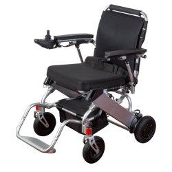Fácil de transportar la aleación de aluminio ultraligero Scooter eléctrico plegable silla