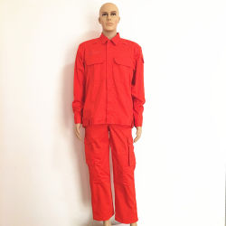 Red Fireproof Fabric Oil Worker Working Suits Workwear For Suits/Uniform/Jackets