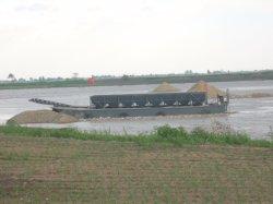 La Chine de 1000 tonnes de sable Slae Barge pour transport