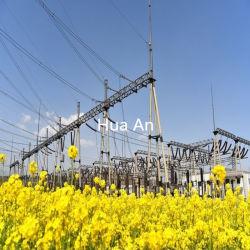 La puissance de transmission électrique galvanisé à chaud en acier de structure sous-station