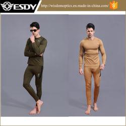 Мода зимы тактических тепловой нижнее белье рубашки и Pant