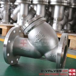 SS304 de la API de ANSI/SS316 Acero inoxidable y acero de fundición de hierro fundido de la brida de filtro&Agua RF y el tamiz de Tipo CF8/CF8M/A216/Wcb