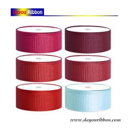 """1 """" de la soie ruban Grosgrain Commerce de gros de la conception des rubans cadeaux Garment Accessories-Dy06124"""