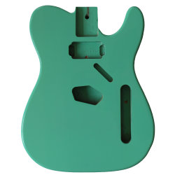 La couleur verte Thinline personnalisé Electric Telecaster guitare à caisse de style des pièces