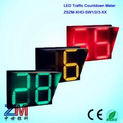 최신 판매 2 손가락 LED 번쩍이기 소통량 카운트다운 미터/소통량 카운트다운 타이머