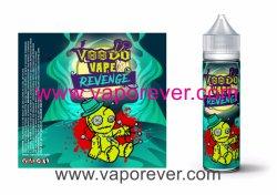 Mango/pear/Goyave E-jus avec de la nicotine, emballage neutre, avec l'essence pour le marché Euro