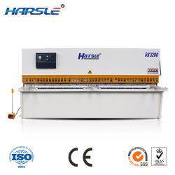 CNC 유압 드라이브 QC12K 절단 플레이트 전단 가공