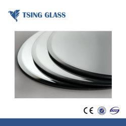 A fábrica produz 3mm-8mm de alumínio e espelho de prata com bordas biselada