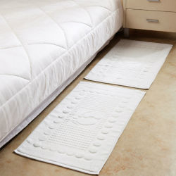 完全な綿の高品質のバス・マット