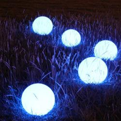 Voyant LED en plastique des feux de meubles Crystal Magic Ball travaux légers avec la batterie