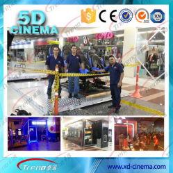 6 Dof Electric/Hydraulic 7D Cinema Equipment 7D 8 المقاعد مقاعد قاعة سينما محاكي 5D