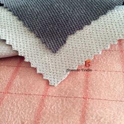 Полиэфирная ткань велюр/Жаккард велюр ткань для одежды