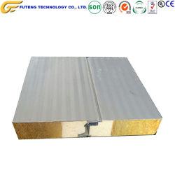 prix d'usine Laine de verre du toit de panneaux muraux Sandwich carte