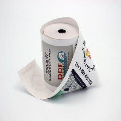 57mm de largura Caixa Registradora em branco os rolos de papel usado no supermercado