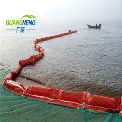 Barreira de algas de PVC, Óleo de PVC, o óleo Containmant da Barra de Pulverização