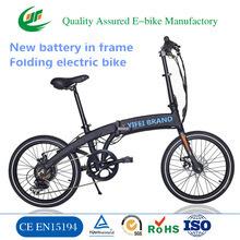 Ce poids léger pliable 36V caché vélo électrique de la batterie