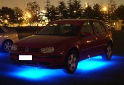 Kit de Underglow Undercar soubassement de carrosserie carrosserie de voiture au néon de bande voyant préchauffage