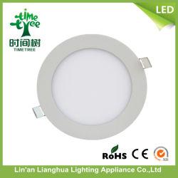 Два года гарантия 3W 6W 9W 12W 15W квадратных Круглые светодиодные панели лампы, светодиодные потолочные лампы