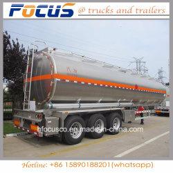 12 rimorchio di alluminio del camion di autocisterna del combustibile delle rotelle 42m3 per Aramco