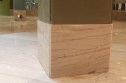 자연적인 White Macuba Circular 또는 Spiral Granite/Quartzite Staircase/Stairs/Steps Tile Granite