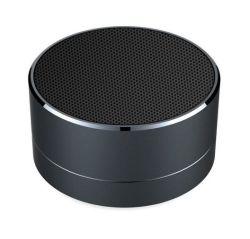 Novos Gadgets Design exclusivo subwoofer Alto-falante Bluetooth sem fio de metal