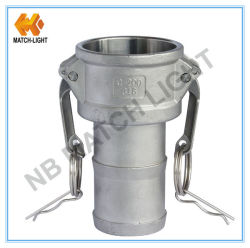 De mannelijke Montage van Camlock van het Roestvrij staal van de Precisie van de Koppeling Gietende