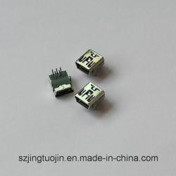 Mini USB CONNECTEUR FEMELLE DIP -5p