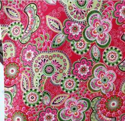 100% coton tissu Calico