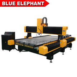 Jinan 1325 máquina de grabado CNC de mármol para diseño de piedra en 3D.