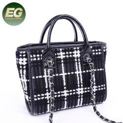 Ткань классический стиль леди женская сумка с плеча сумочку оптовой Sh816