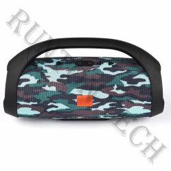 Cuadro de las plumas Mini Super Bass activo altavoz portátil Bluetooth Powered con mango