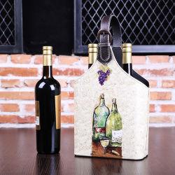 가죽 보관 바구니, 음식 바구니, 와인 바구니, 중국 신년 선물 바구니