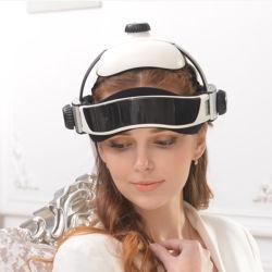 Melhor Cabeça Ajustável Massajador Capacete Eléctrico Massagem Pack