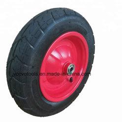 3.25-8 Carretilla de mano de caucho de neumáticos con rueda neumática
