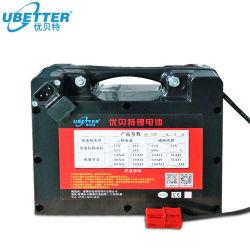 Portátil de grande capacidade 24V 12ah a estação de energia bateria 18650