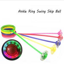 Anel de tornozelo LED oscile Pular Ball