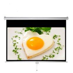Proiettore di HD utilizzato sullo schermo manuale Ma110m del proiettore dello schermo della parete