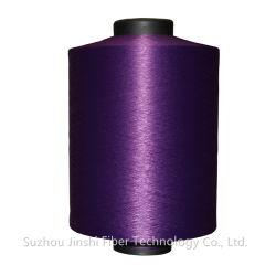 Polyester linnen-achtige Slub DTY, linnen-achtige garen met Slub